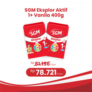 Apotek Online - SGM EKSPLOR 1+ VANILA POWDER 400G (2 Pcs)