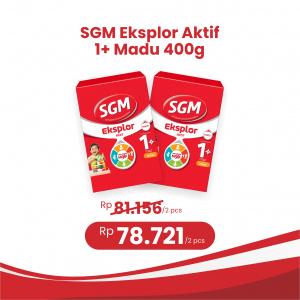 Apotek Online - SGM EKSPLOR 1 PLUS MADU 400G (2 PCS)
