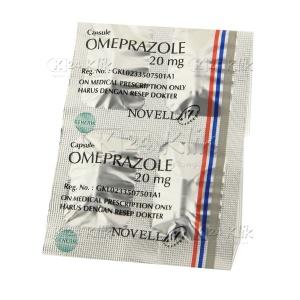 Apotek Online - OMEPRAZOLE NOVELL 20MG KAPSUL