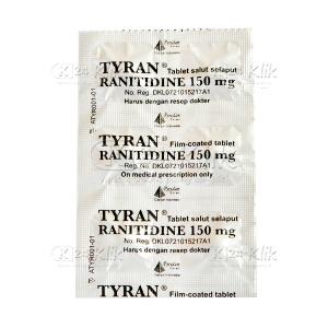 Apotek Online - TYRAN 150MG TAB