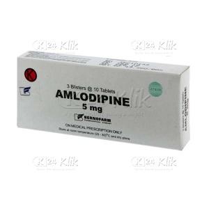 Apotek Online - AMLODIPINE BERNO 5MG TAB