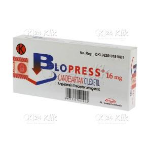 BLOPRESS 16MG TAB