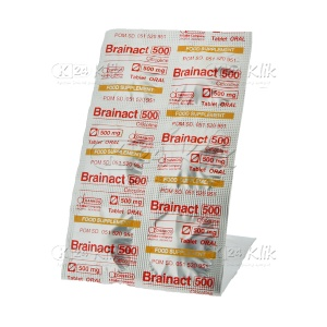 JUAL BRAINACT ORAL 500MG TAB