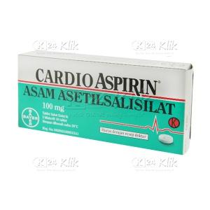 Apotek Online - CARDIO ASPIRIN 100MG TAB