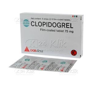 Apotek Online - CLOPIDOGREL DEXA 75MG TAB