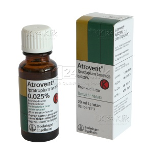JUAL ATROVENT 0.025% SOL 20ML
