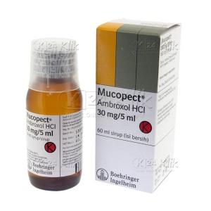 Apotek Online - MUCOPECT SYR 60ML 30MG/5ML (DEWASA)