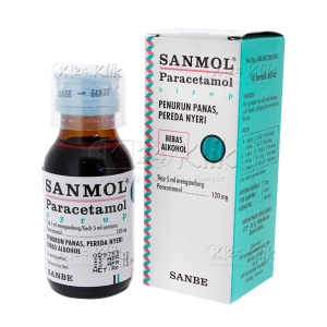 JUAL SANMOL SYR 60ML 120MG/5ML