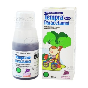 JUAL TEMPRA 100ML SYR NEW PACK