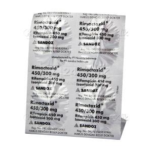 Apotek Online - RIMACTAZID TAB 450/300MG