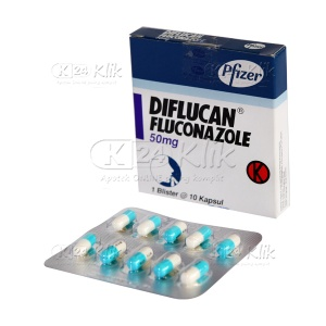 JUAL DIFLUCAN 50MG TABLET