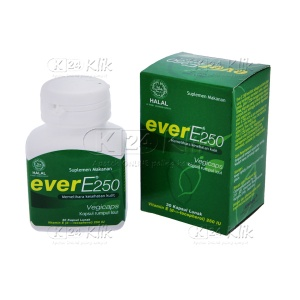 JUAL EVER E 250MG SOFT CAP