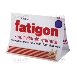 Apotek Online - FATIGON TAB STR 4'S
