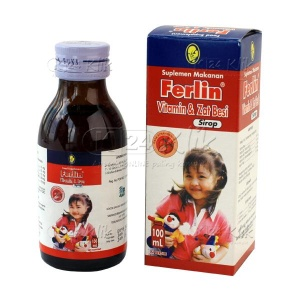 JUAL FERLIN SIRUP 100ML
