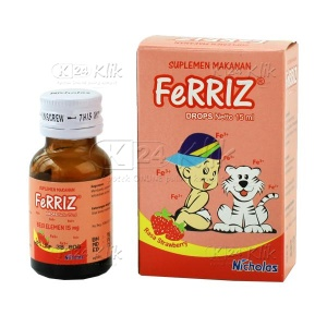 Apotek Online - FERRIZ DROP 15ML