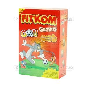 JUAL FITKOM GUMMY GO COKLAT 5S