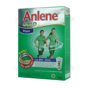 ANLENE GOLD PLAIN 250G
