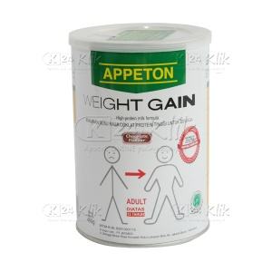 JUAL APPETON WEIGHT GAIN DEWASA 900G