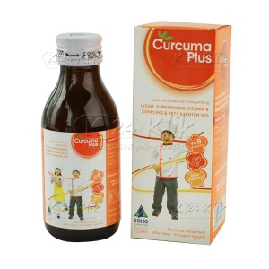 JUAL CURCUMA PLUS SYR 120ML