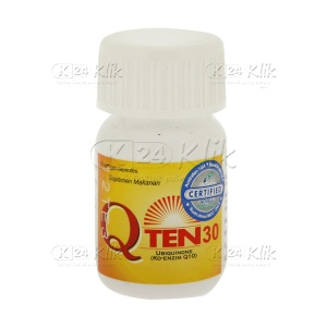 JUAL Q TEN 30MG CAP 30'S/BTL