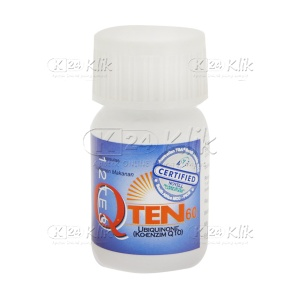 JUAL Q TEN 60MG CAP 30S