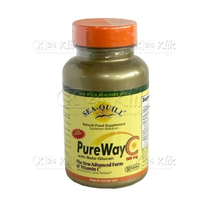 JUAL SEA Q PURE WAY C 500MG DOS