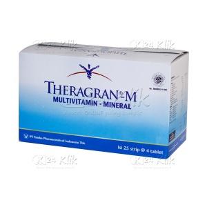 JUAL THERAGRAN M TAB 4'S
