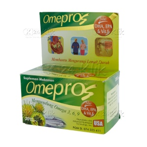 JUAL OMEPROS 30'S DOS