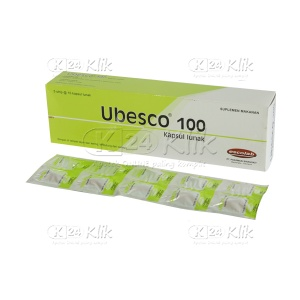 Apotek Online - UBESCO 100MG SOFT CAP 50'S/DOS