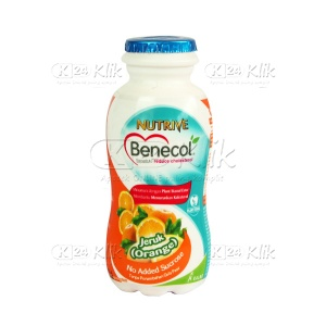 JUAL NUTRIVE BENECOL ORANGE 100 ML