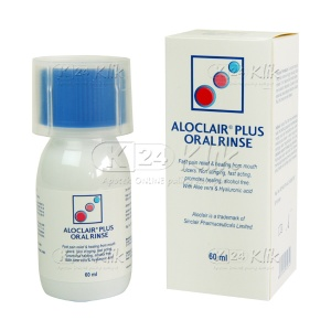 JUAL ALOCLAIR PLUS ORAL RINSE 60ML