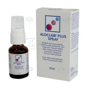 JUAL ALOCLAIR PLUS SPRAY 15ML