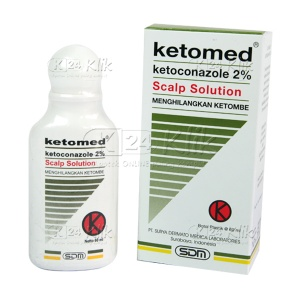 JUAL KETOMED SS 2% SHAMPO 60ML
