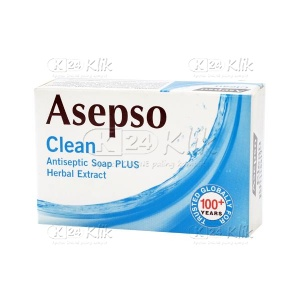 JUAL ASEPSO CLEAN SOAP 85G