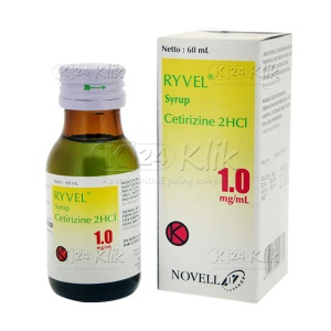 JUAL RYVEL SYR 60 ML5MG/5ML