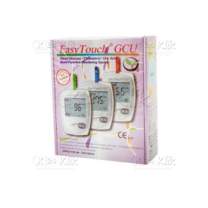 JUAL EASY TOUCH GCU METERED