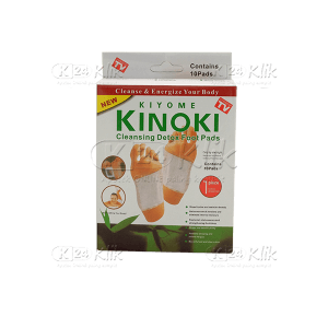 JUAL KINOKI CLEANSING DETOX FOOT PADS WHITE 10S