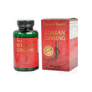 JUAL NATURE'S HEALTH KOREAN GINSENG 100 KAPSUL