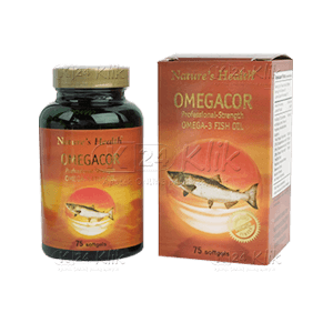 JUAL NATURE HEALTH OMEGACOR TAB 75'S