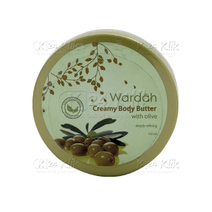 JUAL WARDAH CREAMY BODY BUTTER OLIVE 150ML