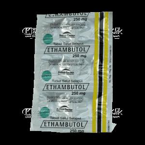 Apotek Online - ETHAMBUTOL TAB 250 MG