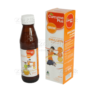 CURCUMA PLUS EMULSION JERUK 200 ML - Manfaat, Dosis,...