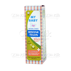 JUAL MY BABY MINYAK TELON PLUS 60ML