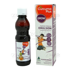 JUAL CURCUMA PLUS EMULSION BLACKURRANT 200 ML