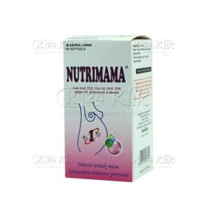 Apotek Online - NUTRIMAMA 1 KAPSUL 30S