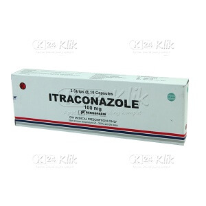 Apotek Online - ITRACONAZOLE 100MG TAB BERNO