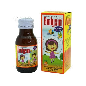 JUAL BIOLYSIN SYR 60 ML