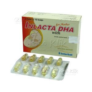 JUAL INLACTA DHA SOFT CAP