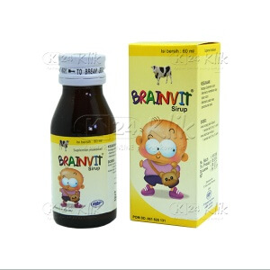 JUAL BRAINVIT SYR 60 ML