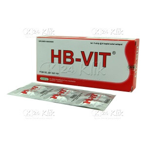 Apotek Online - HB VIT KAPLET 30S